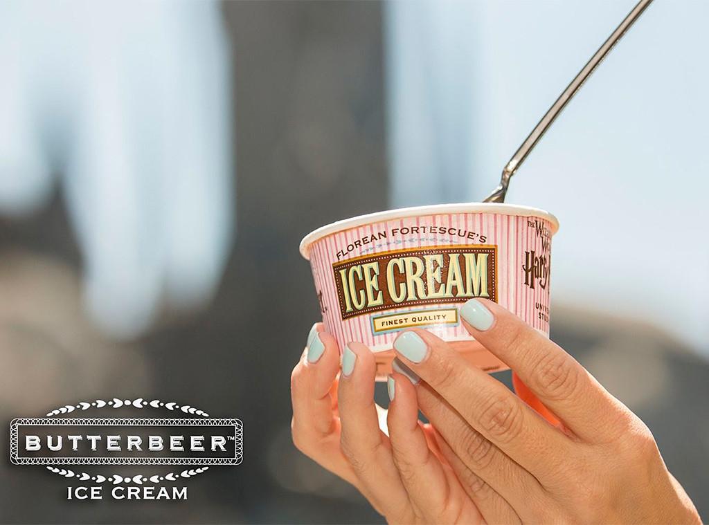 Butterbeer Ice Cream, Universal Studios Orlando, Harry Potter