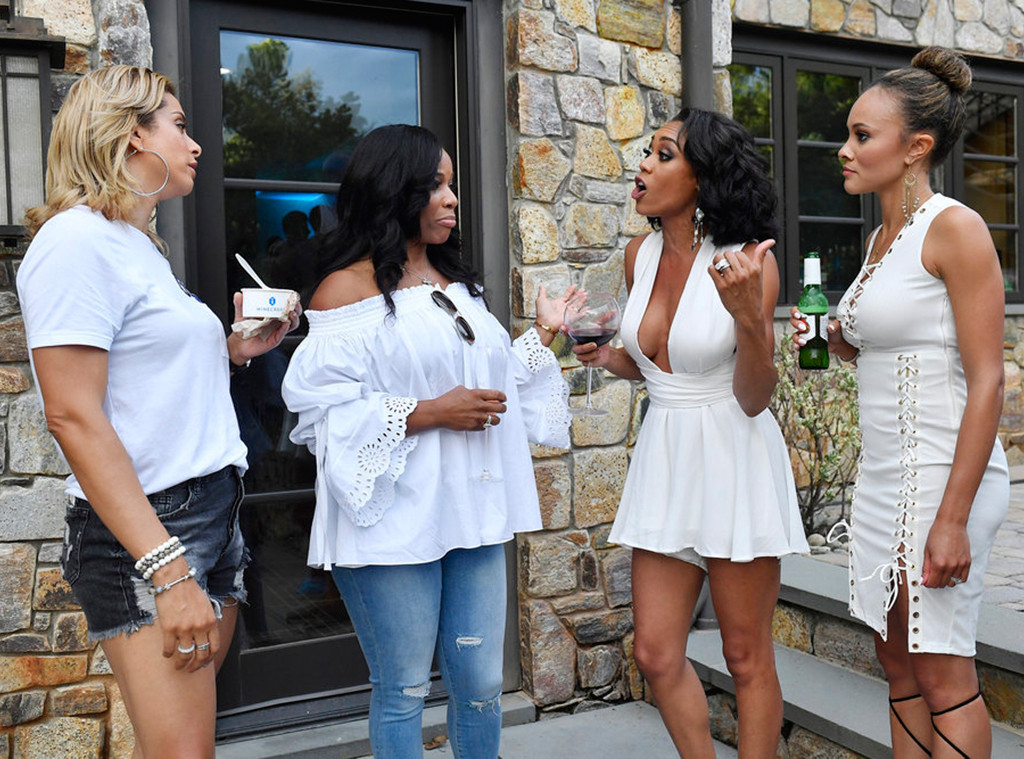 Robyn Dixon, Charrisse Jackson-Jordan, Monique Samuels, Ashley Darby