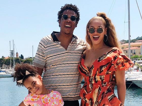 Beyoncé et Jay-Z emmènent Blue Ivy Carter faire du voilier à Cannes