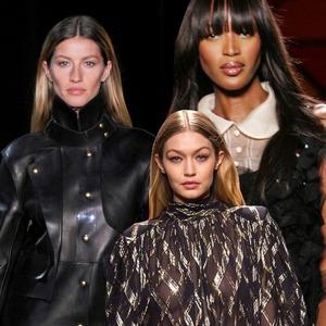 Gisele Bundchen, Gigi Hadid, Naomi Campbell, Supermodel Poll