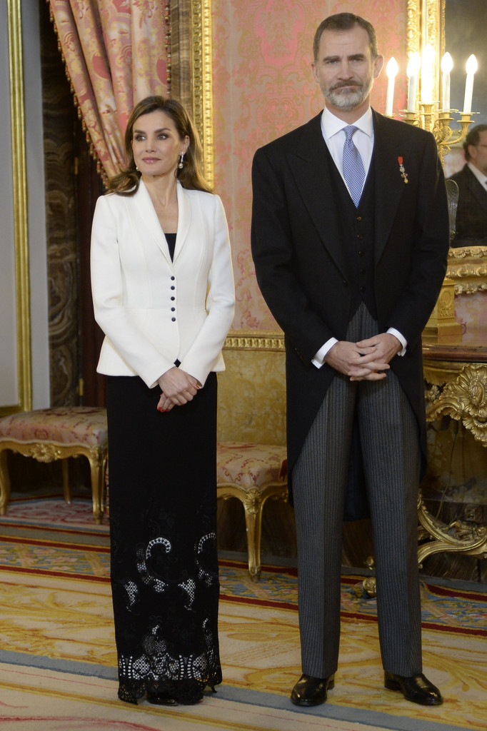 Letizia de España, Felipe de España