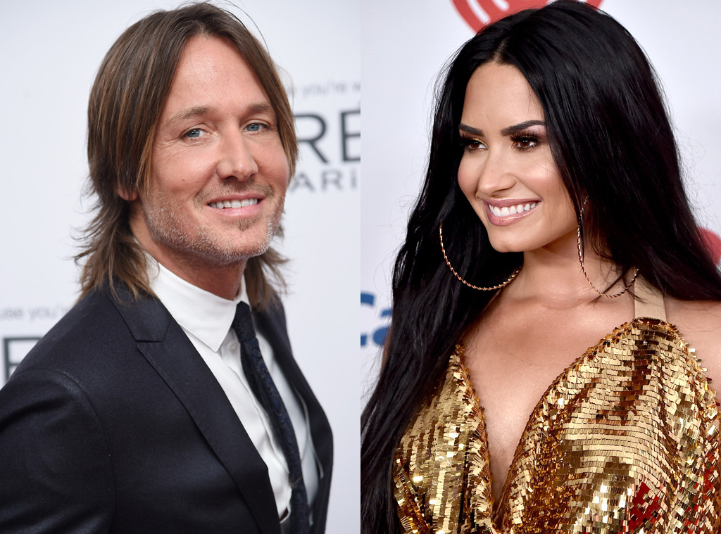 Keith Urban, Demi Lovato