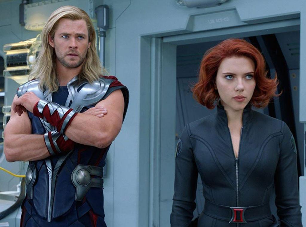 The Avengers, Scarlett Johansson, Chris Hemsworth