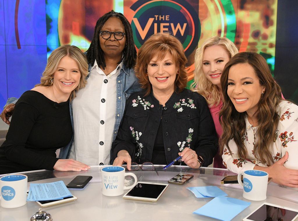 Meghan McCain, The View, Sara Haines, Whoopi Goldberg, Joy Behar, Sunny Hostin