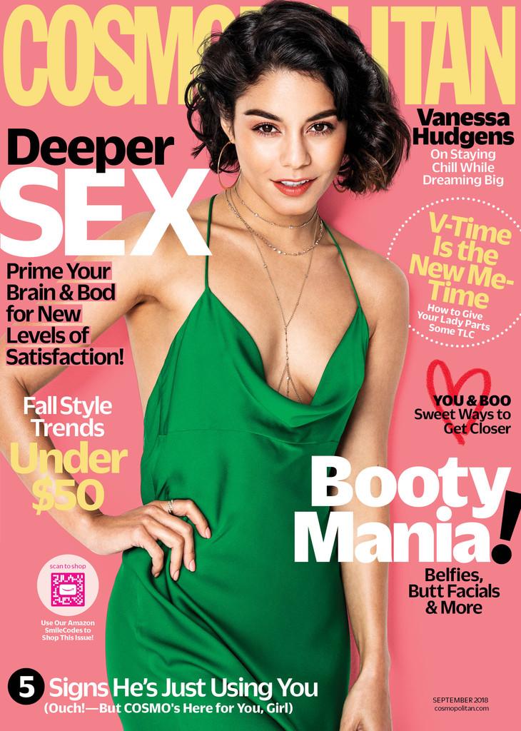 Vanessa Hudgens, Cosmopolitan