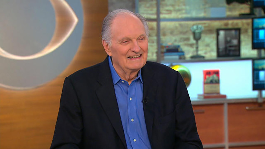 Alan Alda, CBS This Morning