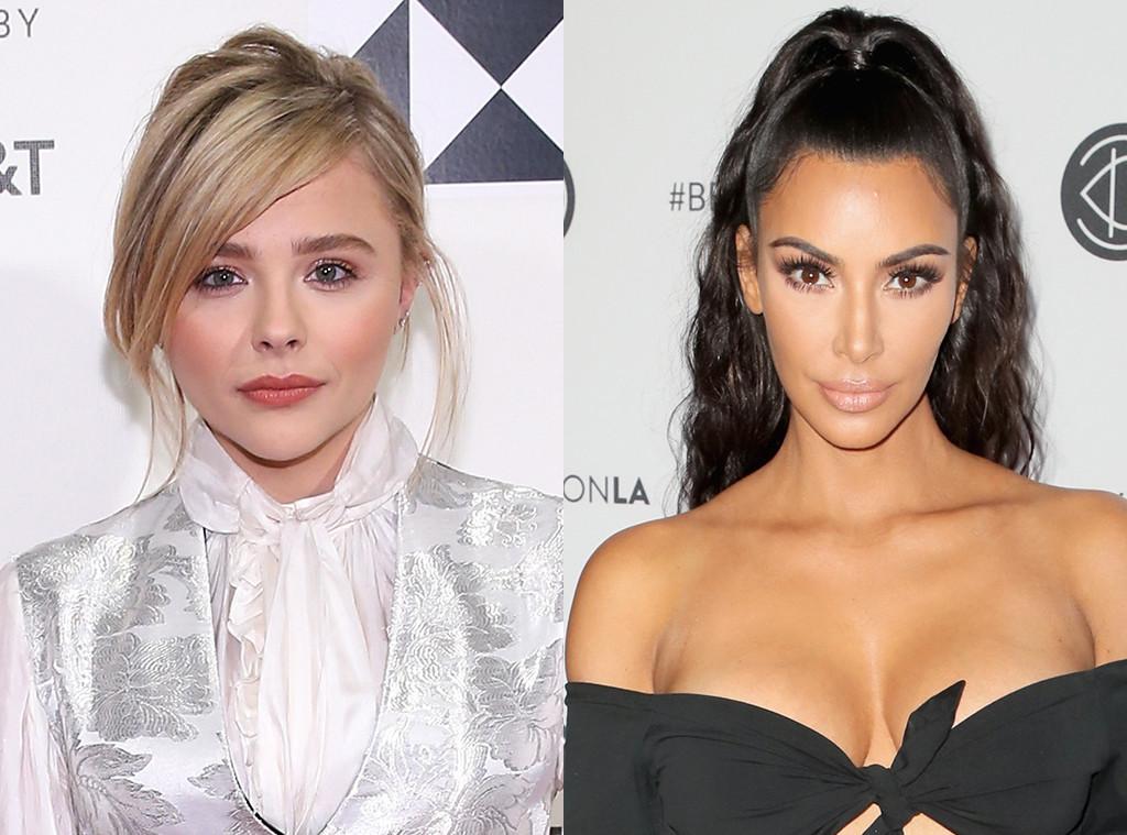 Chloe Grace Moretz, Kim Kardashian