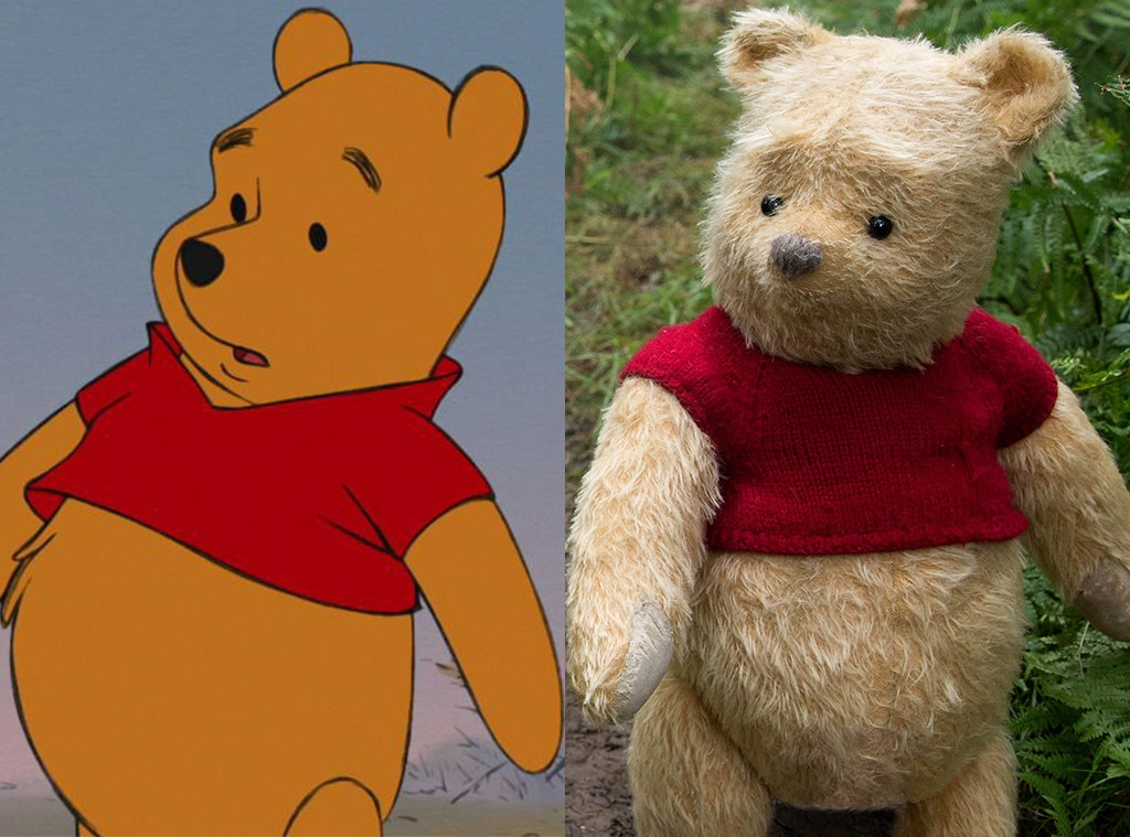 Winnie The Pooh, Christopher Robin, Animated Disney vs. Live Action Disney