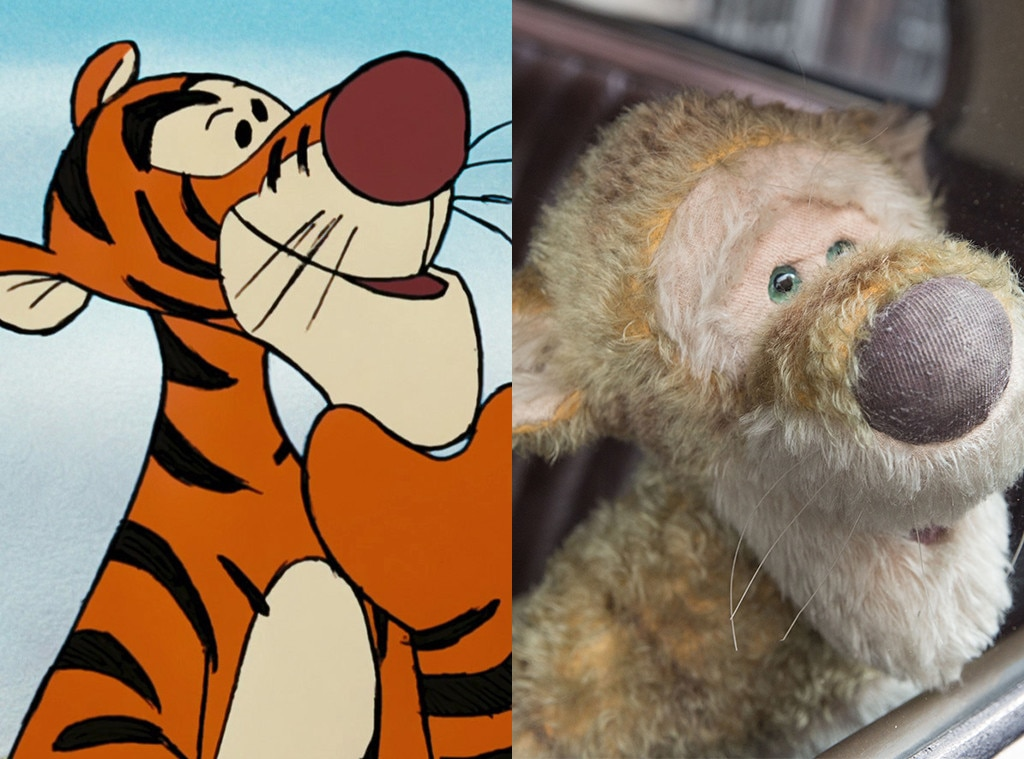Tigger, Winnie The Pooh, Christopher Robin, Animated Disney vs. Live Action Disney