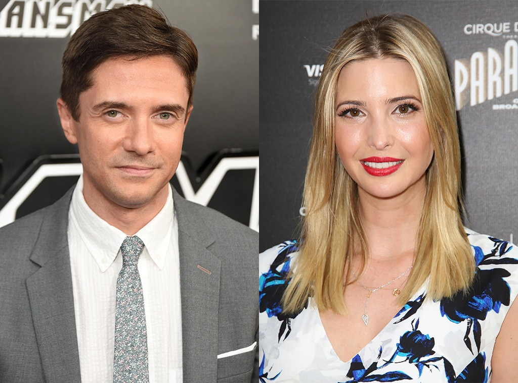 Topher Grace Reflects on Dating Ivanka Trump - Before Her Dad Was President