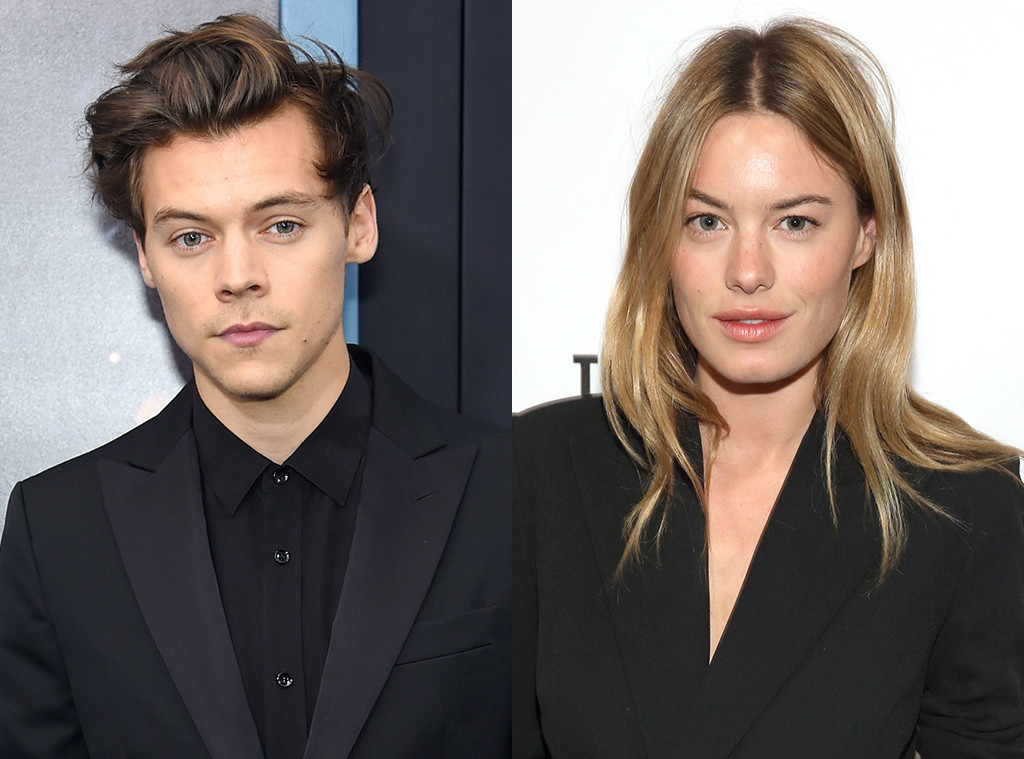Harry Styles And Camille Rowe Break Up After One Year Of Dating E