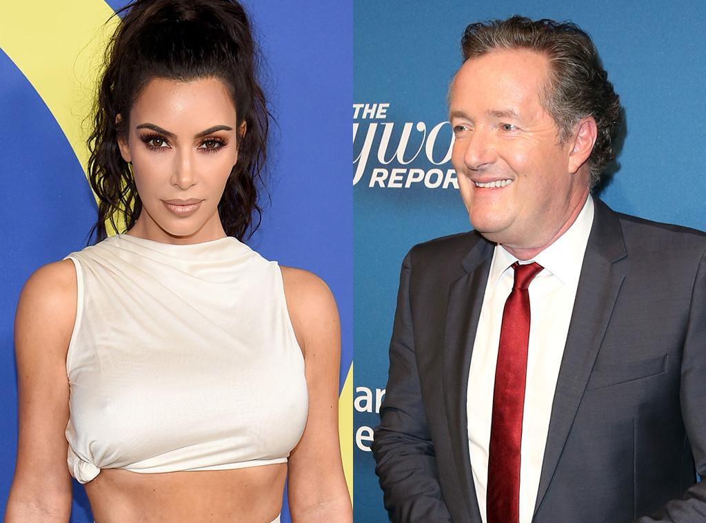 Kim Kardashian, Piers Morgan