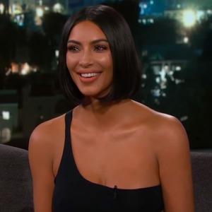 Kim Kardashian, Jimmy Kimmel Live