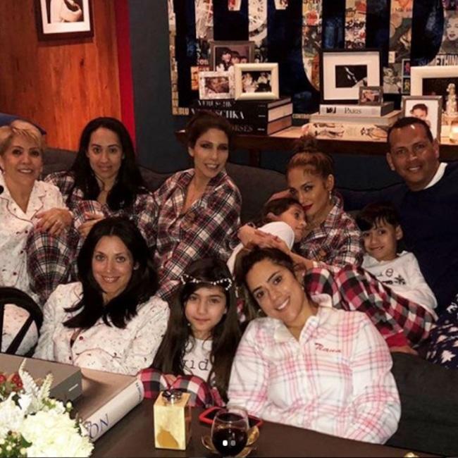 Jennifer Lopez, Alex Rodriguez, Family