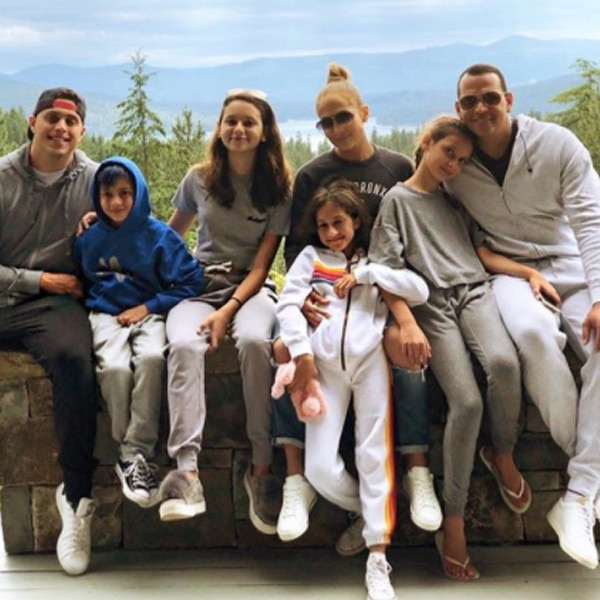 Jennifer Lopez, Alex Rodriguez, Family