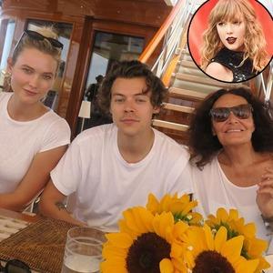 Taylor Swift, Harry Styles, Karlie Kloss, Diane Von Furstenberg