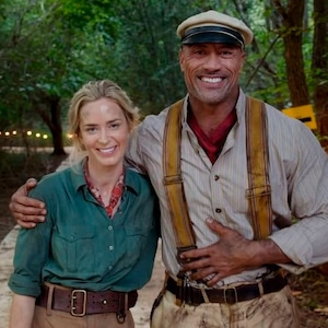 Emily Blunt, Dwayne Johnson, Jungle Cruise