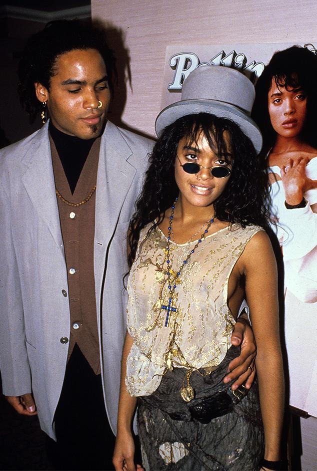 Lenny Kravitz, Lisa Bonet, 1988