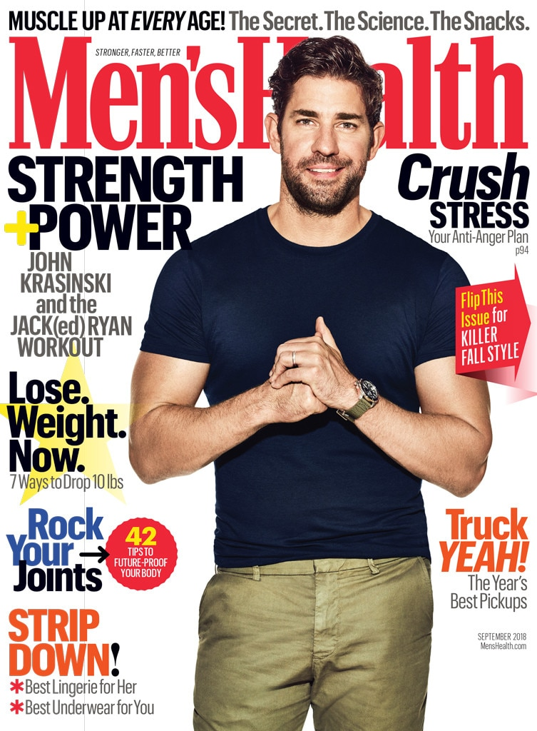 John krasinski workout
