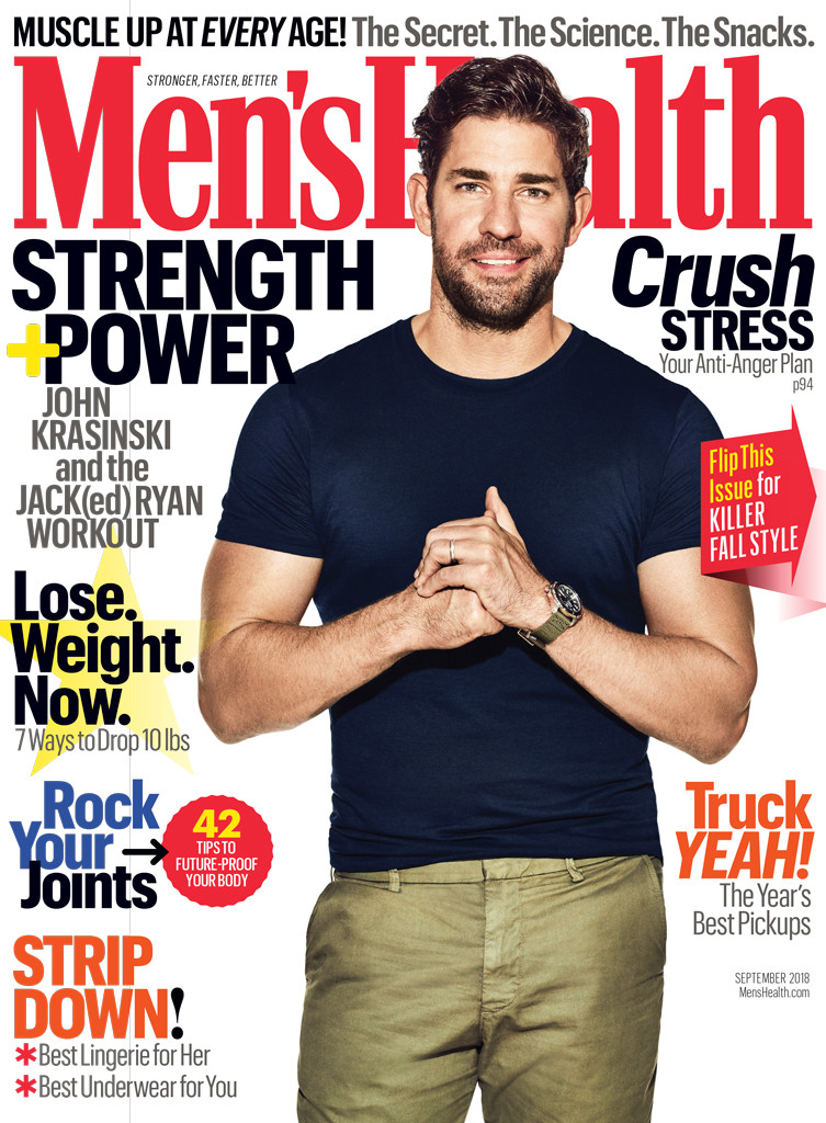 John Krasinski, Men's Health, September 2018
