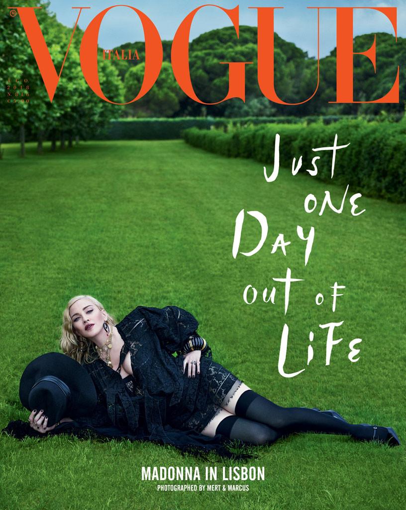 Vogue Italia, Madonna, Vogue 2018