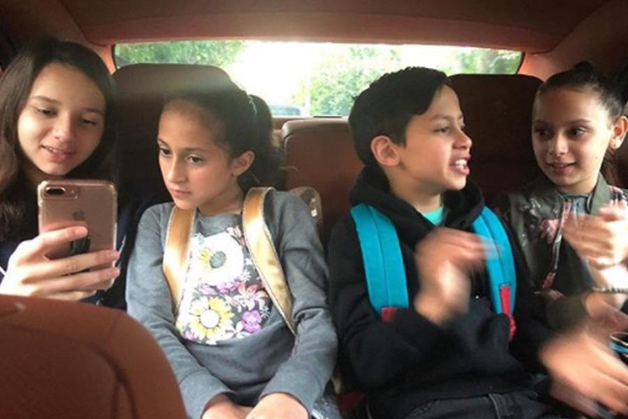 Max Muniz, Emme Muniz, Ella Alexander, Natasha Alexander