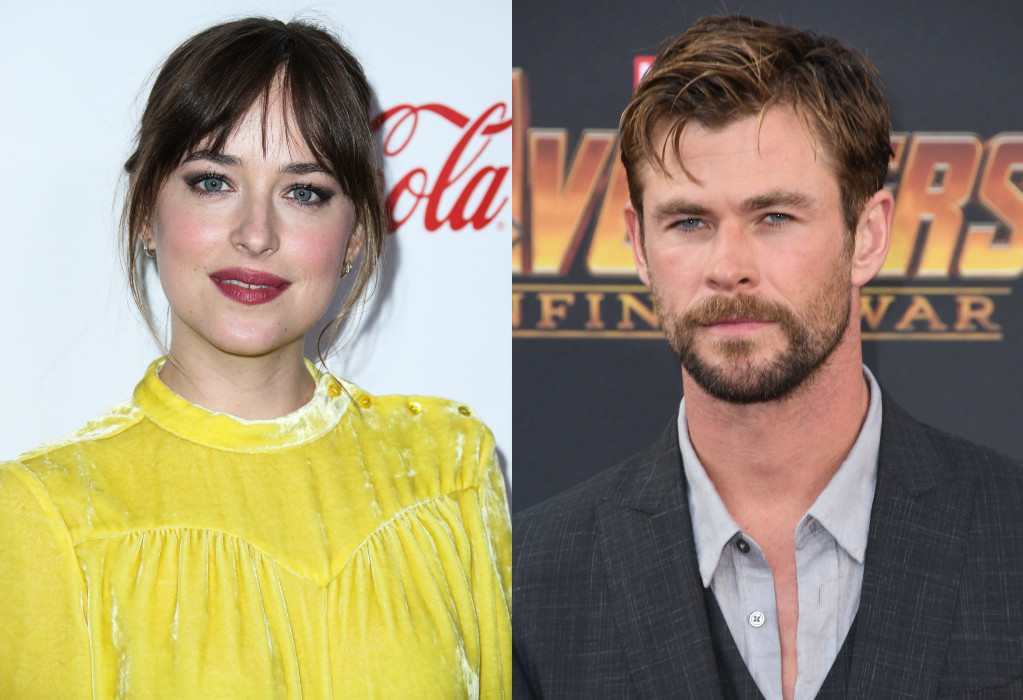 Dakota Johnson, Chris Hemsworth