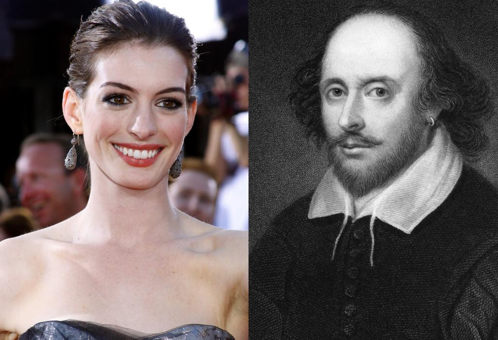 Anne Hathaway, Shakespeare
