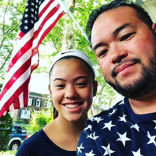 Jon Gosselin, Daughter, Hannah, Fourth of July