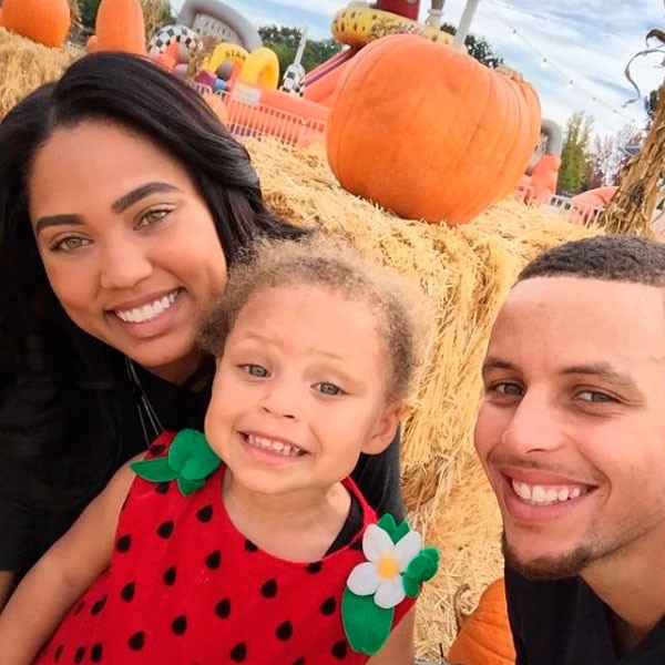 Stephen Curry, Steph Curry, Family, Ayesha Curry, Riley Curry