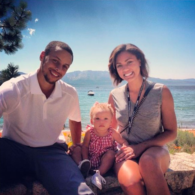 9c943d005868 Stephen Curry Is a Father of Three! Check Out His Sweetest Family ...