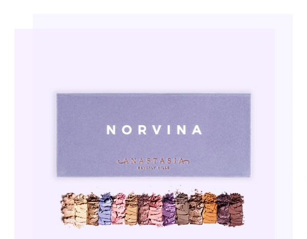 Anastasia Beverly Hills Launches New Norvina Eye Shadow Palette E News Australia