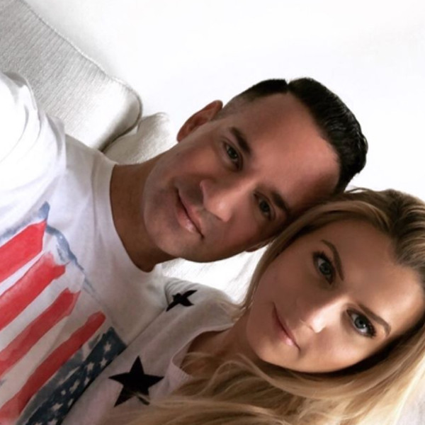 """Mike """"The Situation"""" Sorrentino, Lauren Pesce, Fourth of July 2018"""