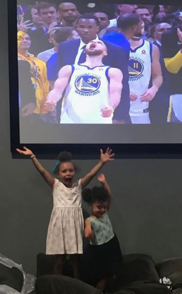Stephen Curry, Steph Curry, Family, Riley Curry, Ryan Curry