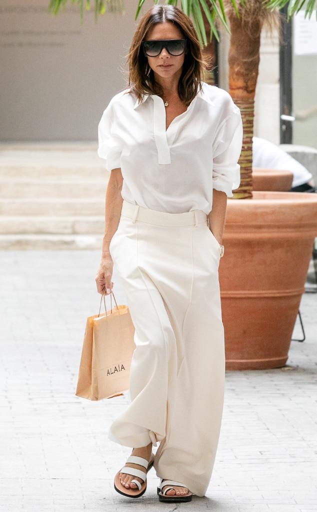 ESC: Victoria Beckham, White Button Down, 2018