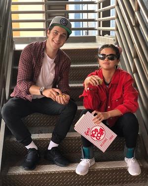 Selena Gomez, David Henrie, Fourth of July 2018