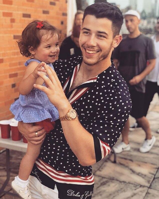 Nick Jonas, Fourth of July 2018