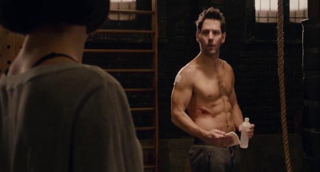 Superheroes sin camisa