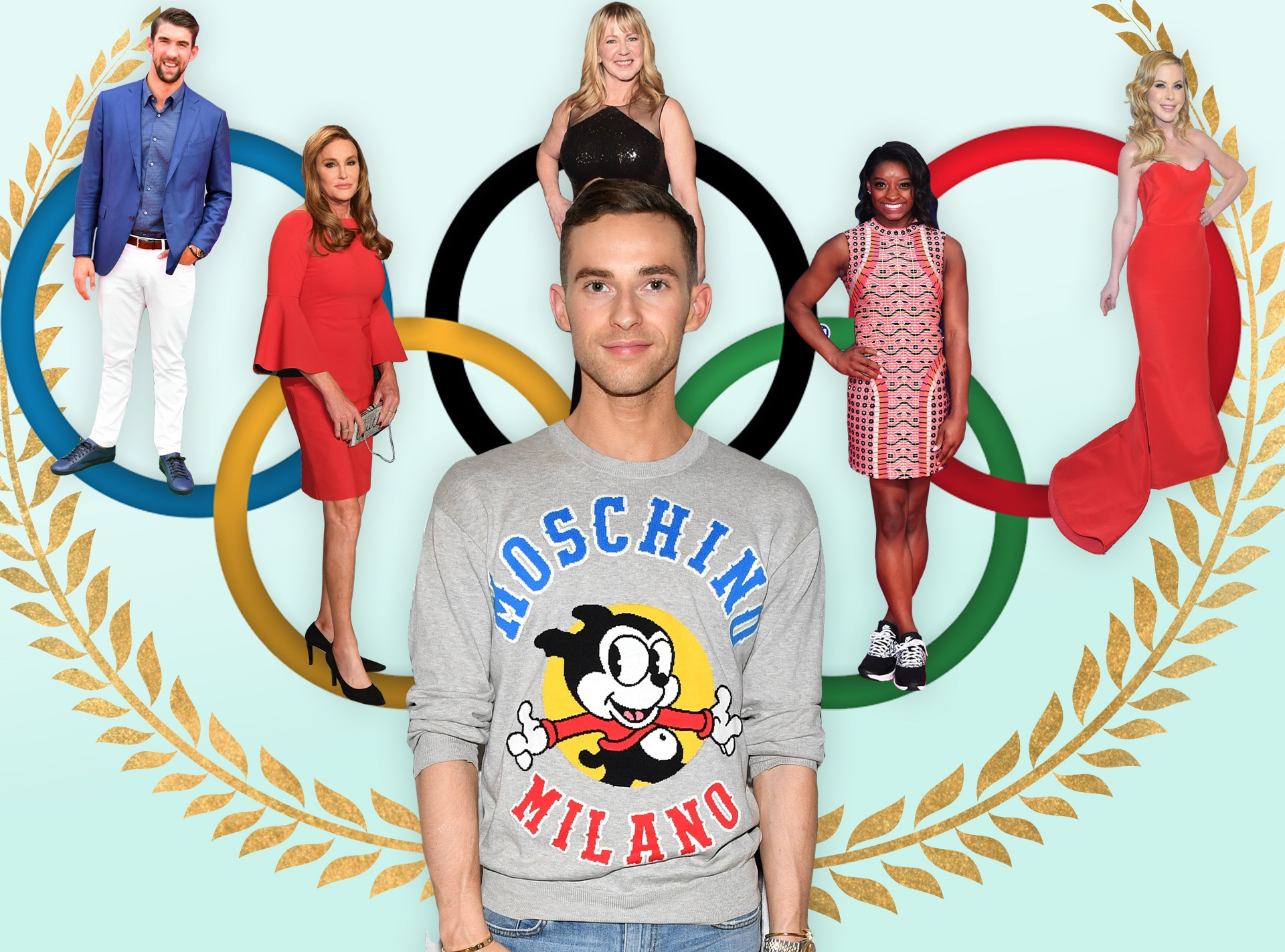 Shelf Life Of Olympians, Adam Rippon, Michael Phelps, Simone Biles, Caitlyn Jenner, Tara Lipinski, Tonya Harding