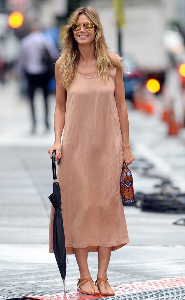 Heidi Klum -  Rain, rain, go away!