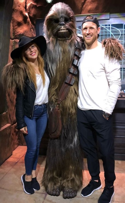 Julianne Hough, Brooks Laich, Chewbacca