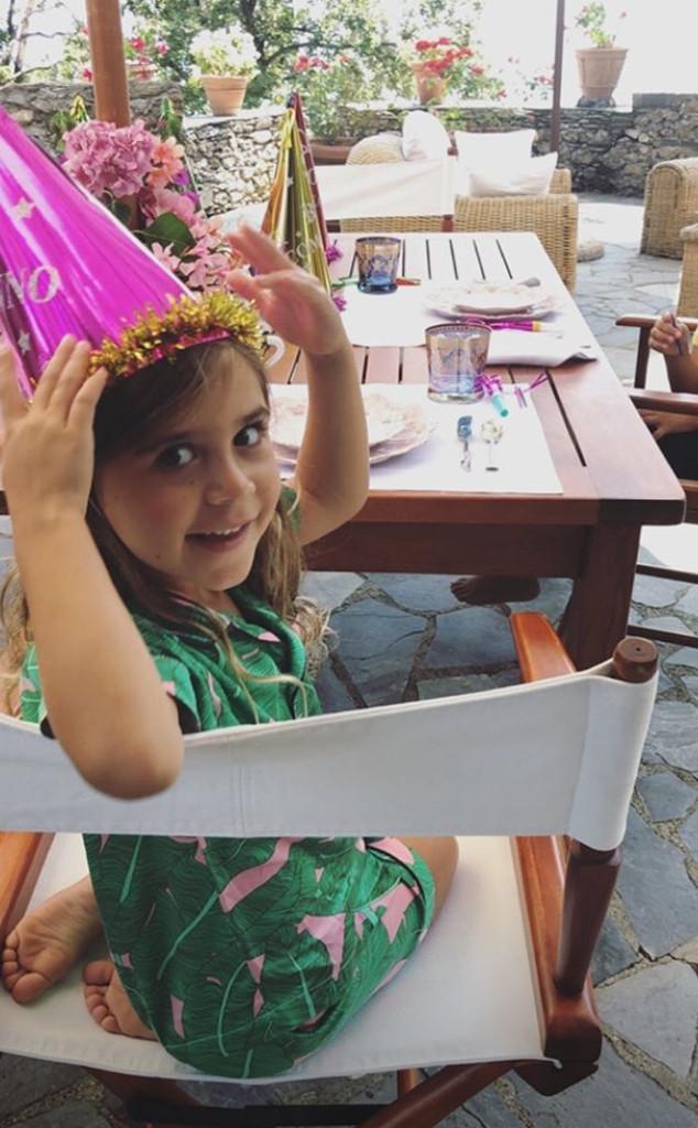 Penelope Disick, Birthday, Italy