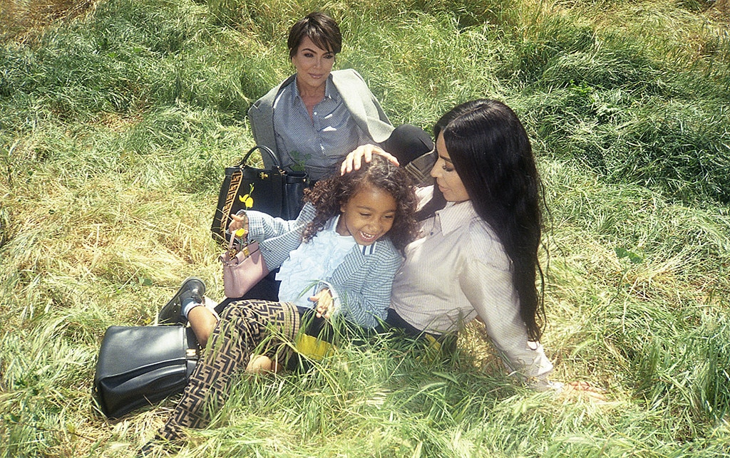 North West Makes Her Modeling Debut In Fendi's Latest Campaign! LOOK!