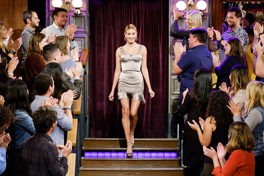 Hailey Baldwin, The Late Late Show With James Corden