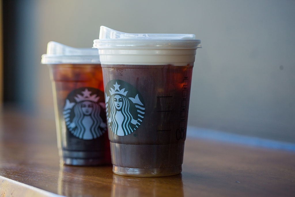 Starbucks, Straws, Lids