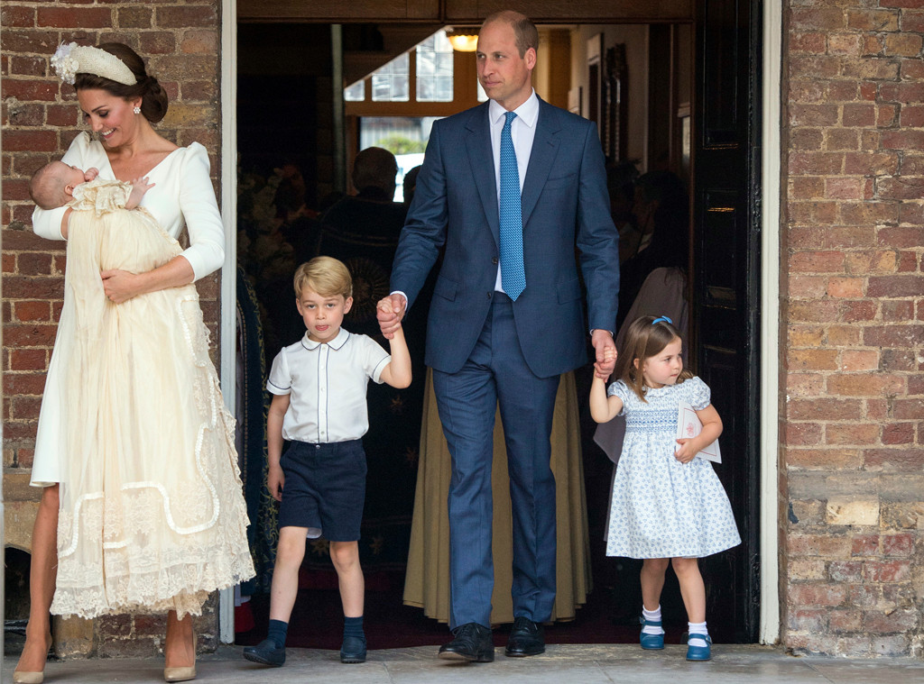 Prince Louis, Kate Middleton, Prince William, Prince George, Princess Charlotte, Prince Louis Christening