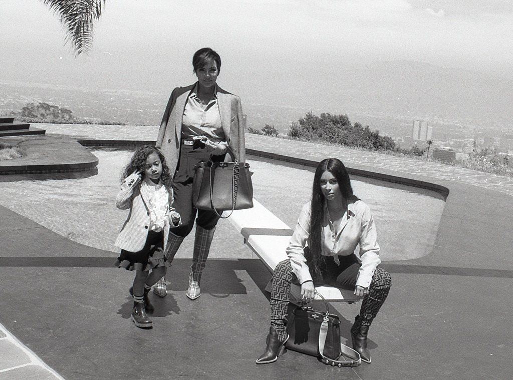 North West makes her modeling debut in Fendi campaign
