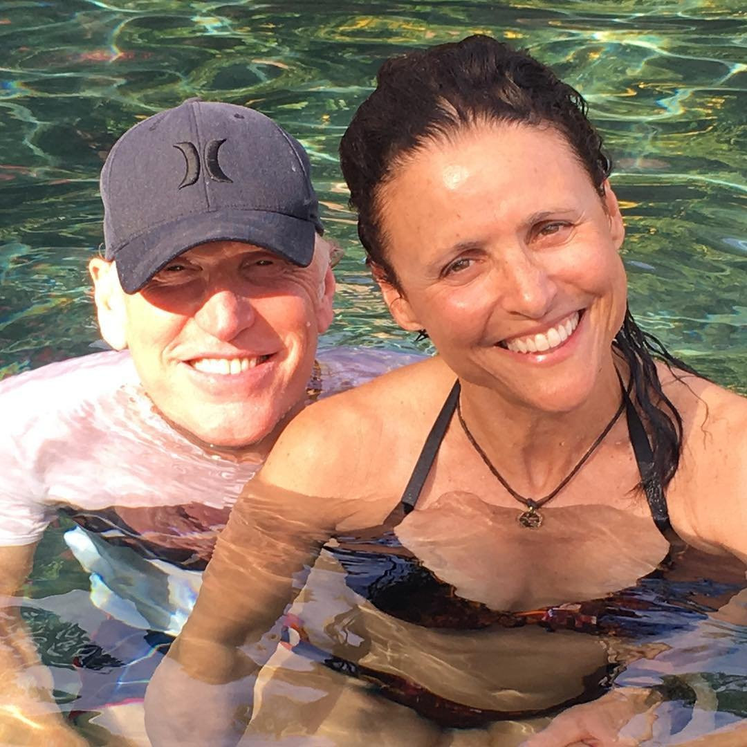 Julia Louis Dreyfus Soaks Up The Sun In Hawaii After Cancer