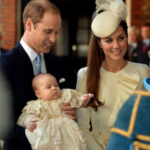 Prince George, Prince William, Kate Middleton, Christening