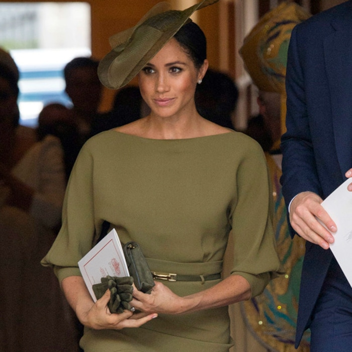 a4b8143ce Meghan Markle Can Do No Wrong When It Comes to Fashion: Vote for Her Most  Beautiful Look So Far This Week | E! News